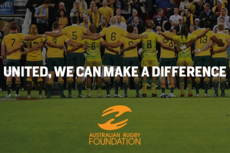 Rugby Aid Bushfire Appeal Banner