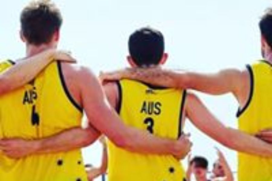 Mens Beach Handball World Champs Italy 2020 Banner